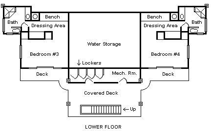 Floor Plans for Villa Colorado